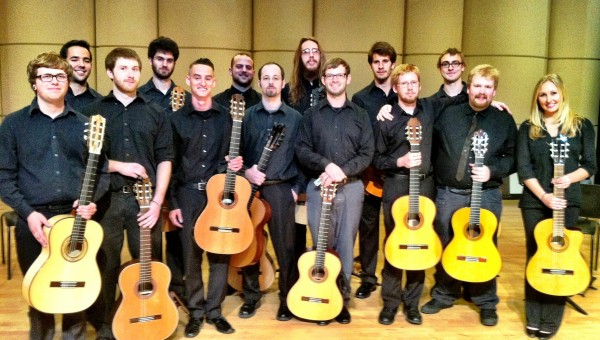 ECU Guitar Ensemble Photo