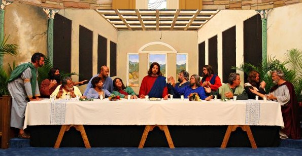 Last Supper Background